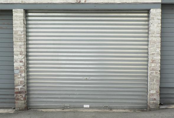 Rideau Métallique d\'un garage